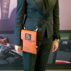 Tablet bag with Avanade logo