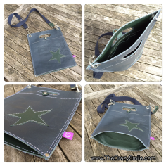 Leather bag by TheCrazySmile
