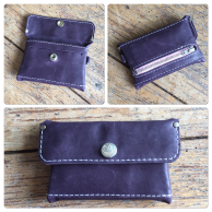 Purple little wallet