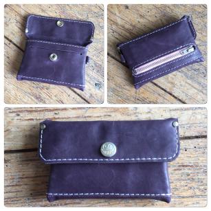 Purple little wallet