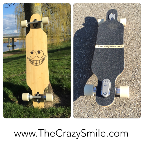 TheCrazySmile on a Longboard