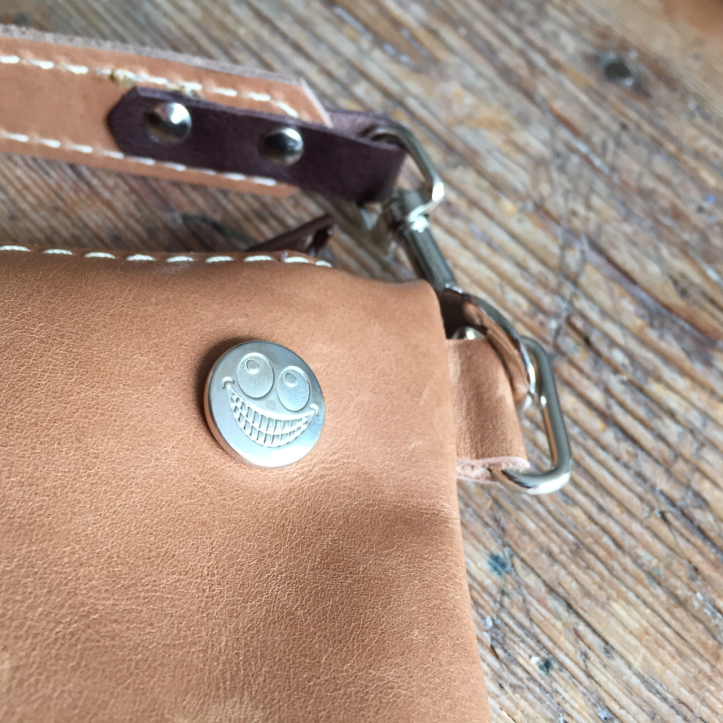 Small leather bag detail