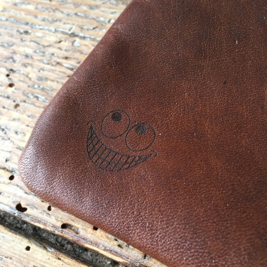 Leather etui foofighters logo by Thecrazysmile