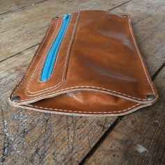 Leather etui handmade
