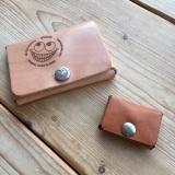 Very small leather wallet