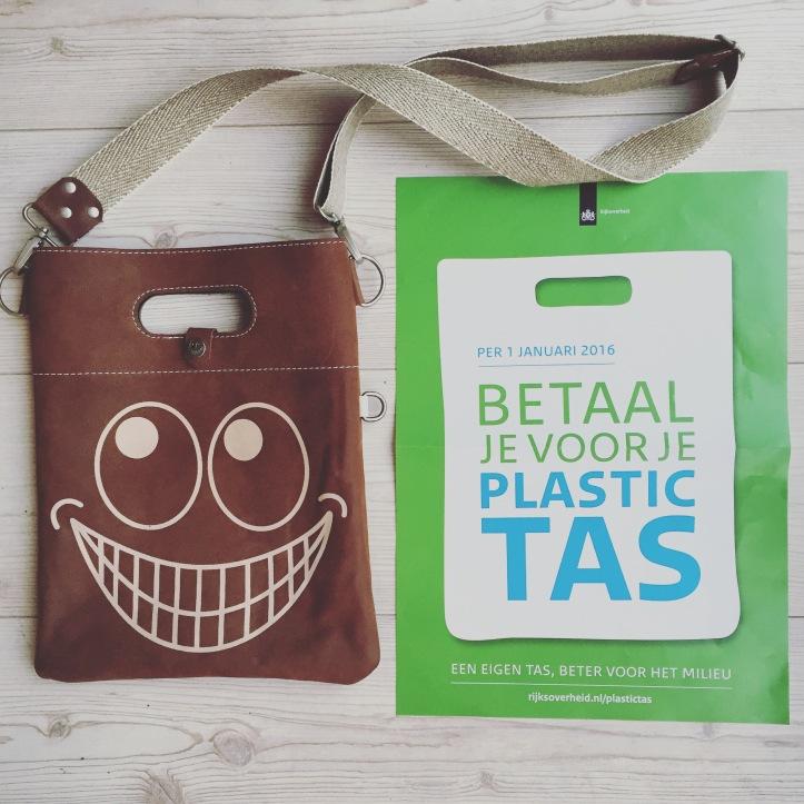 Weg met de plastic tas