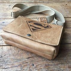 Leather Superbag bottom